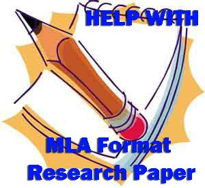Outline research paper mla format